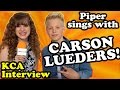 Carson Lueders Sings Taylor Swift Shake It Off with Me + Travel the Orange Carpet at Nick KCAs!