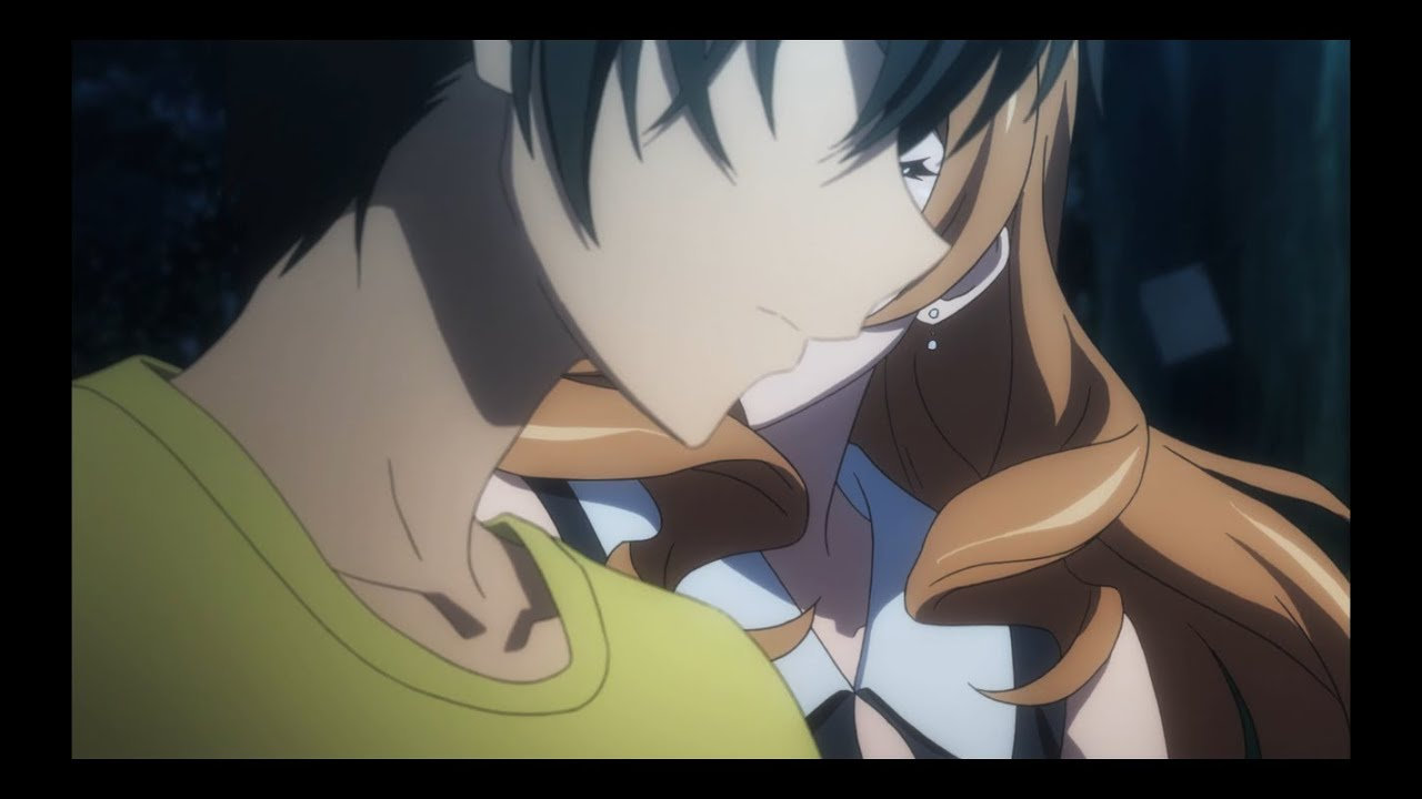 infinite stratos kiss