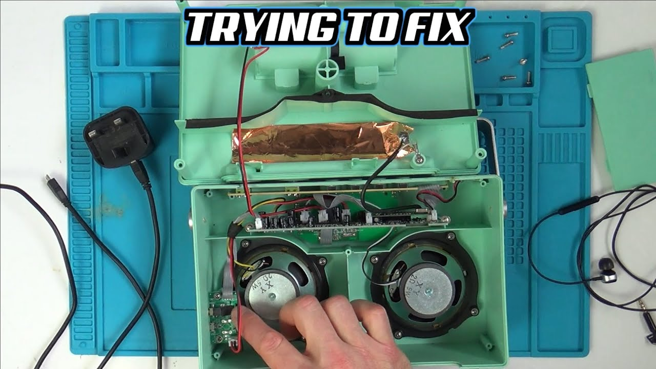 Trying to FIX a Radio with a Faulty Micro USB & Headphone Port