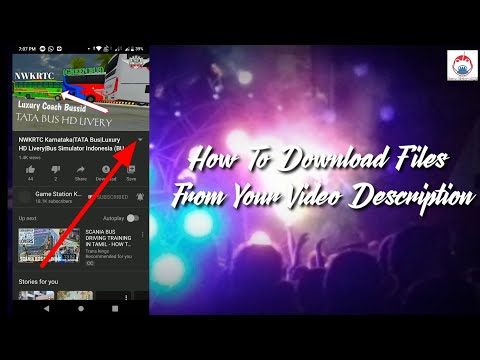 How To Download Files/Immage From YouTube Video Description 2019|In English & Kannada|