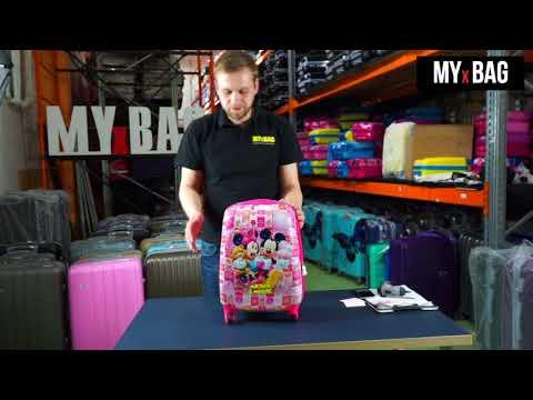 Детский чемодан MYxBAG. Краткий обзор.