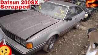 Nissan Datsun 200sx Junk Yard Find