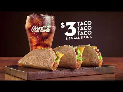 Jack in the Box $3 Taco Deal Commercial — #TacoObsession