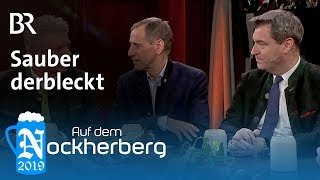 Sauber derbleckt – Die Gesprächsrunde zum Nockherberg 2019