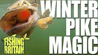 Winter Pike Methods - Fishing Britain episode 5