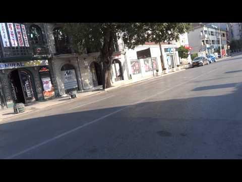 Walking in Podgorica, Montenegro
