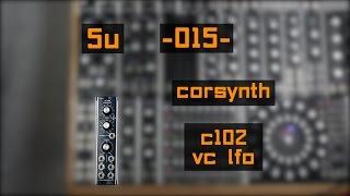 5u corsynth c102 vc lfo