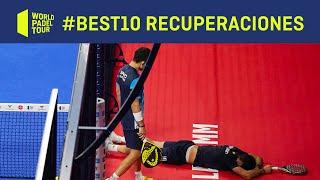 #Best10 Las mejores recuperaciones de 2020 | World Padel Tour
