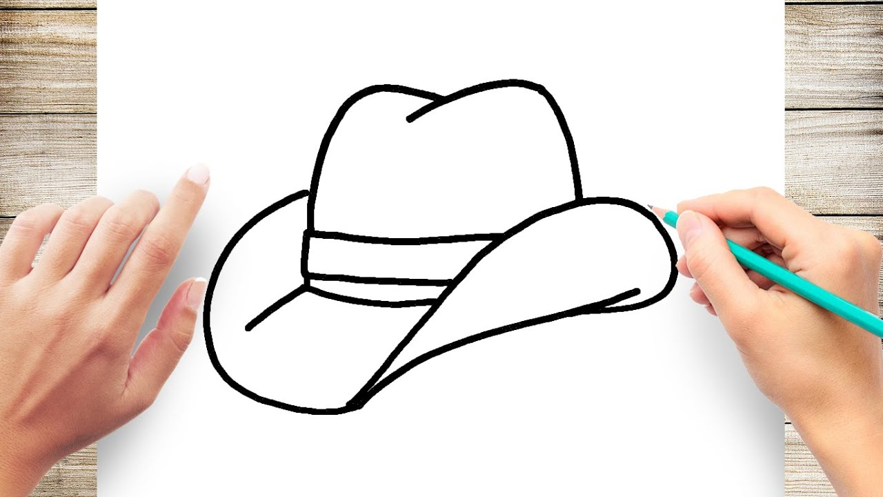 6406509c8 How to draw a cowboy hat