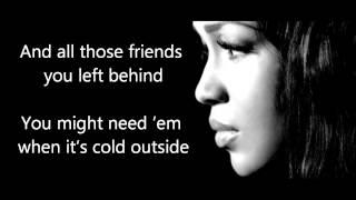Glitter & Gold - Rebecca Ferguson (lyrics)
