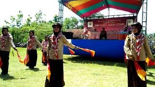 Sukses Buat Semua Bengong, Tarian E-Kanebo Pramuka SMK Nurul Huda Losari