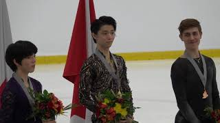 2018 SCAC Men Victory Ceremony (Yuzuru Cut)