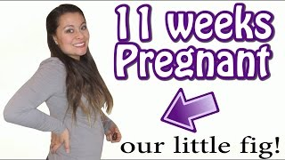 HOW LONG DOES IT TAKE TO GET PREGNANT? (11 WEEKS PREGNANT)