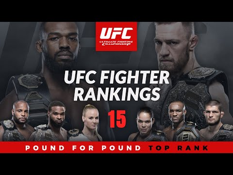 Top 15 UFC Fighter Rankings 2020