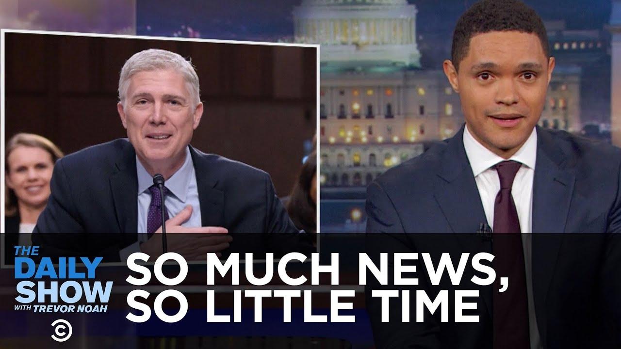 'The Daily Show's' Trevor Noah Defends Melania Trump's Hurricane Harvey Stilettos