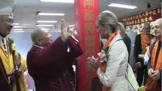 中國漢傳密學研究院第四屆學術研討會 薄伽梵 師尊致歡迎辭