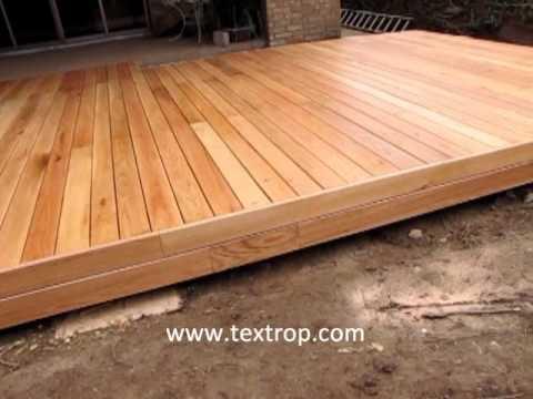 Decks en monterrey by textrop youtube - Como hacer un techo de madera ...