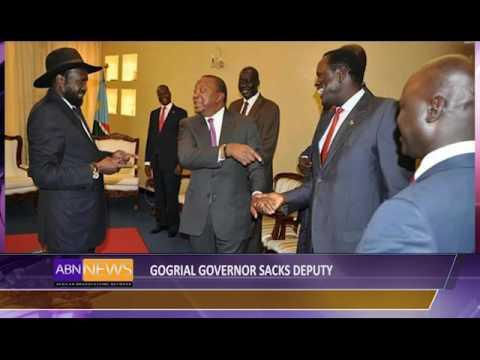 Gogrial Governor Sacks Deputy