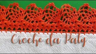 Como Fazer Bico de Crochê – Carreira Unica no Tecido