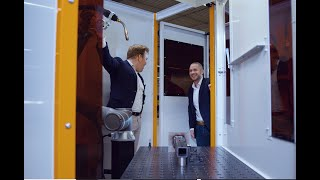 OMRON and AWL-Techniek launch a cobot welding cell