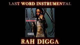 Rah Digga - Last Word Instrumental 2018