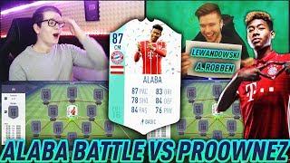 FIFA 18: Heftiges FUT BIRTHDAY ALABA SQUAD BUILDER BATTLE vs Proownez