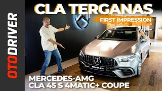 Mercedes-AMG CLA 45 S 4Matic+ Coupe 2021 | First Impression | OtoDriver