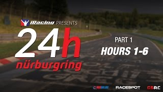iRacing 24 Hours Nürburgring // Hours 1-6