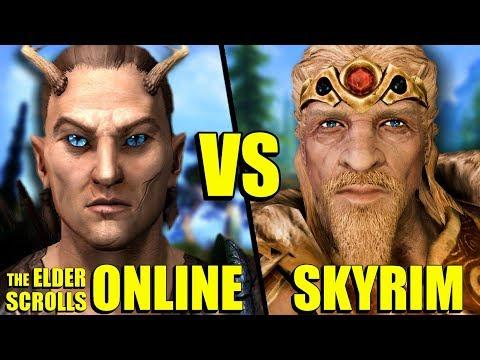 5 Things Elder Scrolls Online Did Better Than Skyrim