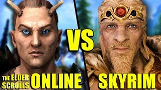 5 Things Elder Scrolls Online Did Better Than Skyrim