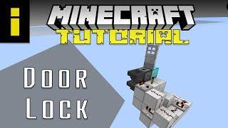 Minecraft: Door Lock with Private Key (Tutorial)