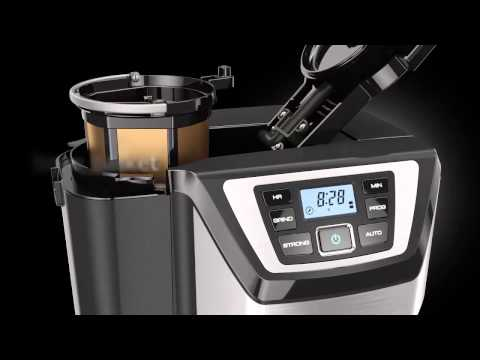 Black + Decker Mill & Brew Coffee Maker Features