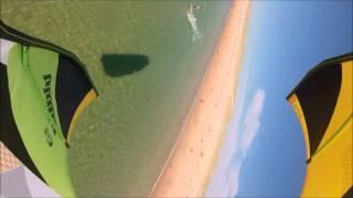 blade kiteboarding a lightwind session antoine badin pbc kitesurf com