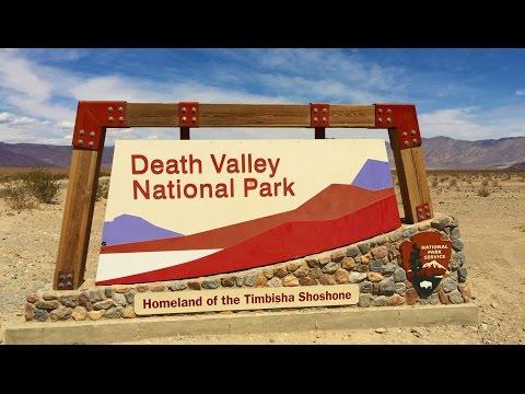 Los Angeles to Death valley, Las Vegas Part 8 USA Road trip GoPro