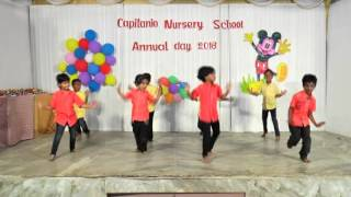 Dandanakka Song Dance, Capitanio Nursery School, Annual Day 2016