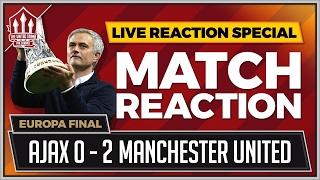 Ajax vs Man Utd 0-2   Pogba & Mkhitaryan Goals Win The Europa League!