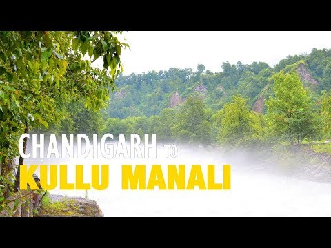 Chandigarh to Kullu Manali Road Trip | Bilaspur | Mandi | Ultra HD