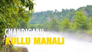 Road to Manali | Chandigarh to Manali by Road | Road Trip Video