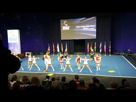 Tulare Union Cheer Gold Comp Squad 2017/2018