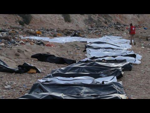 Encontrados 74 corpos de migrantes