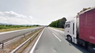 Google Street View Hyperlapse (Slovenia) (