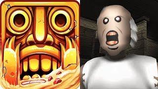 Temple Run 2 vs Granny Roblox Horror Escape Game