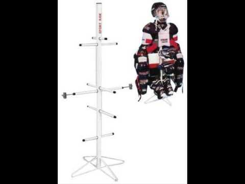 Wet Gear Hockey Equipment Dryer Rack Metal Model