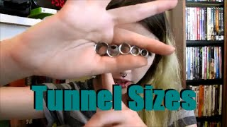 """Comparing Tunnels (2g, 0g, 00g, 7/16"""", 1/2"""") 
