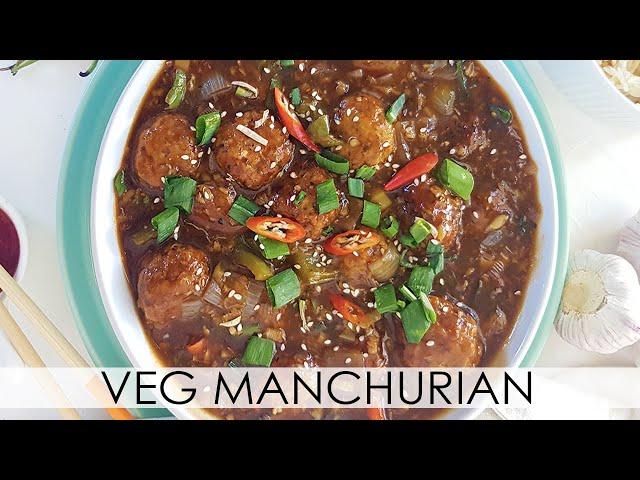 Vegan Manchurian Recipe - Veg Manchurian