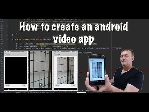 How  to create an android video app