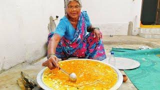 VERY BIG INDIAN MASALA OMELETTE PREPARED BY GRANI MASTANI LAKSHMAMMA in MY VILLAGE FOOD