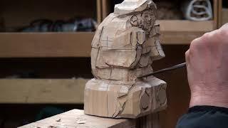 動画で学ぶ 仏像彫刻 第一弾《大黒天》ダイジェスト