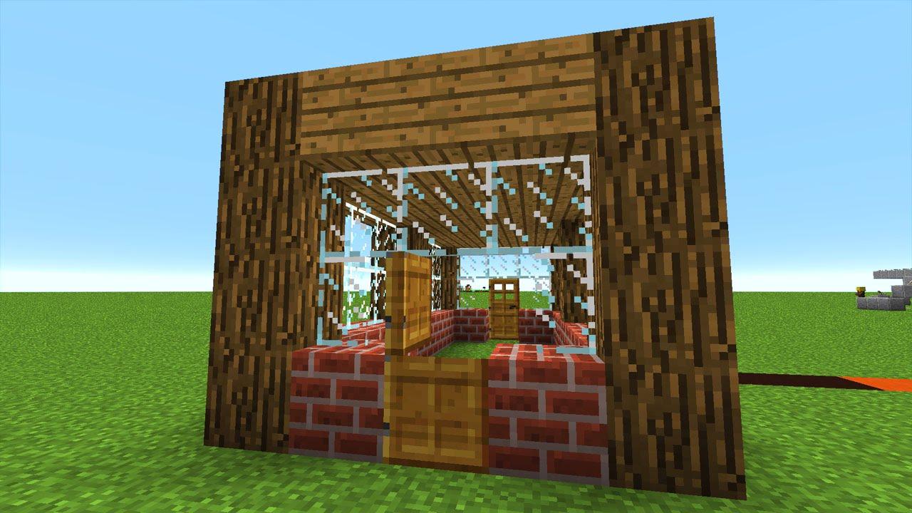 Minecraft Haus Bauen Auf Kreative Weise Mit Minecraft Commands - Minecraft haus bauen mit command