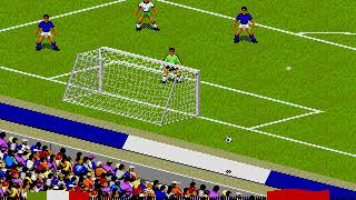 Olympics on video games Football match 16 Italy vs Iraq